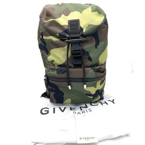Givenchy Light Camo Pack Away Nylon Backpack